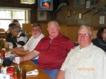 February 2010: Back to Front - Arnold Seligman, George Dahlgren, Jim King, Wendell Newcomb