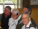 February 2010: Back to Front - Don Caton, ???, Chris Shearman, Arnold Seligman