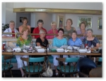 July '09. This was the first one! Back row, l to r: Sally Booker, Mary Catherine Nolan, Phyllis Bennett, Sheila Phillip