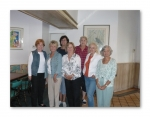 October '09: Rita Daw, Sheila Phillips, Linda Barnett, Carolyn Reeves, Jane Horne, Linda Lambert, Barbara Litchfield