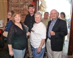 Back Row: Sharon Grandy Vinson, Charles Hitt, Joe Edmondson, Linda Lambert Martel.  Front Row: Bonnie McCullough Perine,