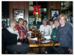 Dec 2010:  Left to Right:  Linda O'Leary Hunneyman,  Ann Cherie Kelly Dye, Mary Owen Jernigan, Judi Rogers Pemberton, M