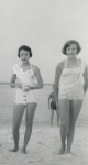 Judy Yarbrough & Sheila Phillips - 4th of July Picnic at Armstrong Park (8th Grade - 1956)