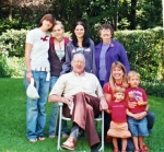 Batchelor Family picture taken summer 2008 includes Ann,Bill,granddaughters Adrea,Chelsea, Brittany and daughter, Mary w