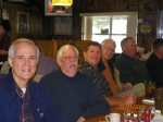 February 2010: Art Hufford, Don Kilpatrick, Jerry Blount, Tom Markham, Bill Thomas