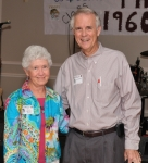Class of '60 Salutatorian, Sherry Lagergren Murray, Art Hufford