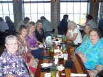 June 2010 at the Crab Trap - l to r:  Sally Booker Currie, Mary Catherine Nolan, Linda O'Leary Hunneyman, Phyllis Benne