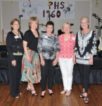 Still BEAUTIES 50 Years Later: Peggy Patterson, Linda O'Leary Hunneyman, Marsha Siegel Herman, Sandy McLeod Hayward, Do