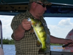 Wendell Newcomb fishing in Panama.