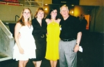Al and Amanda Shams with daughters Marissa and Samantha